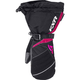 Womens Black/Fuchsia Fusion Mitts