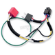 Single H4 Harness for Plug-And-Play Diamond Star Headlight Modulator - 01083