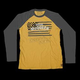 Yellow/Charcoal McQueen Americana Long Sleeve T-Shirt