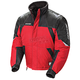 Red/Black/Silver Storm Snowmobile Jacket