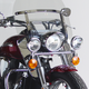 14 3/4 in. Chrome Heavy Duty Windshield Lowers - N765