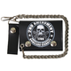 2nd Amendment 4 in. Tri-Fold Leather Chain Wallet - WLB1021