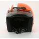 Orange/White Jimmy Retro Helmet
