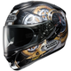Black/Gold/Silver GT-Air Cog TC-9 Helmet