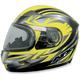 Multi Yellow FX-90S Snow Helmet