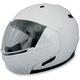 Pearl White FX-140 Modular Helmet