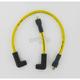 Custom Suppression 8.8mm Yellow Spark Plug Wire Set - 172072