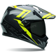 Black/Hi-Vis Yellow MX-9 Adventure Barricade Helmet