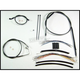 Black Pearl Designer Series Handlebar Installation Kit for Use w/15 in. - 17 in. Ape Hangers (w/ABS) - 487362