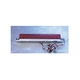 Red LED Light Bar with Chrome Base-6 in. - 02009