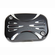 Black Deep Cut Front Clutch Master Cylinder Cover - 03-438