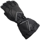 Womens Black Leather/Textile TRS Gloves