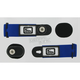 Blue/Black/White Goggle Speed Strap Kit - 212576-0003