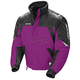 Womens Purple/Black/Silver Storm Snowmobile Jacket