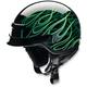 Green Nomad Hellfire Helmet
