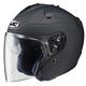 Matte Black FG-Jet Helmet