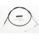 Black Vinyl Throttle Cable - 0650-0407