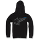 Black Plume Zip Hoody