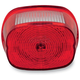 Red Squareback Tailight w/License Plate Illumination Window - GEN2-SBW-R