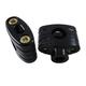 Matte Black 7/8 in. Handlebar Riser/Clamp Assembly - 09-378B