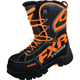 Black/Orange X Cross Boots