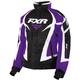Women's Black/Purple/White Team Jacket