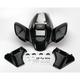 Standard ATV Black Front Fender - 11703
