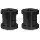 Black Standard Solid Riser Bushings - SM-STDSRB-B