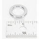 .141 in. Wide Chrome Outer Axle Spacer - DS-223038