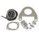 Black/Chrome Twin Cam Oil Pressure Gauge Kit - 85213