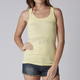 Womens Yellow Fade Miss Clean Tank