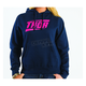 Womens Voltage Navy Pullover Hoody