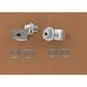 Chrome Splined Adapter - 8814