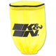 Yellow Round Straight Drycharger Air Filter Wrap - RU-1280DY