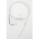 Custom Sterling Chromite II Designer Series Alternative Length Braided Throttle Cables for Custom Handlebars - 332110