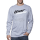 Gray Heather Total Moto Long Sleeve Tee