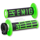Black/Green Emig V2 Lock-On Grips - H34EMBN