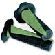 Black/Green Deuce Grips w/Donut - 219627-1043