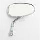 Mini American Chrome Oval Mirror - 941040