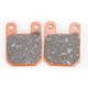 Semi-Sintered (V) Brake Pads for GMA Model F  & Performance Machine 125 x 4S & 125 x 4SL Calipers - FA115V