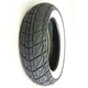 Rear SR723 130/70-12 Whitewall Scooter Tire - 0600-0007