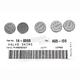 13mm Valve Shim Kit - 2.35mm - 5PK1300235
