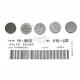 13mm Valve Shim Kit - 2.55mm - 5PK1300255