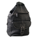Leather 6 Pocket Backpack Purse - BPA1011