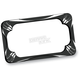 Black Deep Cut License Plate Frame - 12-159