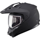 Matte Black GM11S Snow Sport Snowmobile Helmet