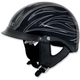 Black w/Silver Pinstripe FX-200 Helmet