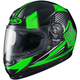 Youth Neon Green/Black CL-Y MC-4 Striker Helmet