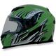 Green Multi FX120 Helmet