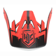 Red/Black MC-1F Visor for CS-MX Helmets - 0970-6020-01